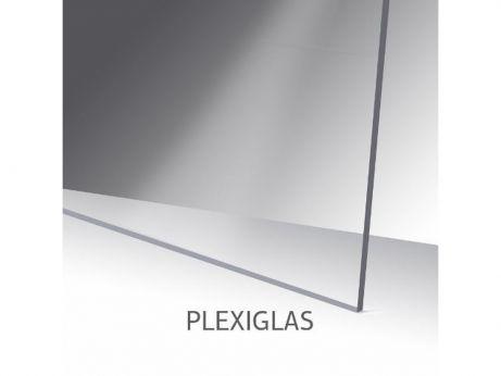 Plexiglas 2 mm, 610 x 466 mm, transparant (SUPREME)